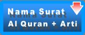 Daftar Surat Al Quran, Tentang Al Quran