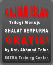 Gratis! Kajian islam tentang shalat sempurna