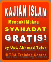 Gratis! Kajian islam tentang syahadat