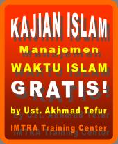 Kajian tentang manajemen waktu islam