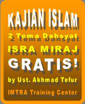 Peringatan isra miraj dan kajian islam dahsyat