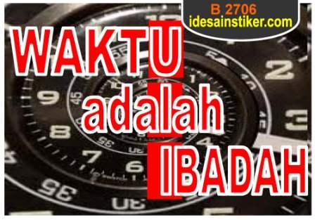 tentang waktu menurut islam