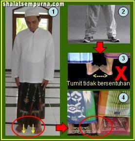 cara shalat yang benar cara berdiri