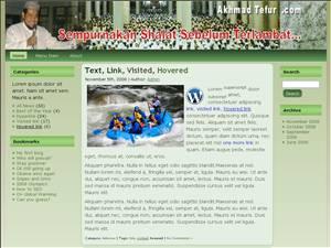 Theme WordPress Bagus untuk tema wordpress