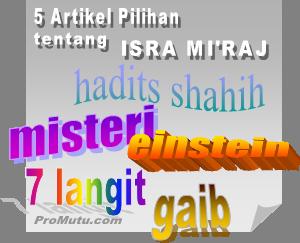 artikel pilihan isra mi'raj nabi muhammad saw