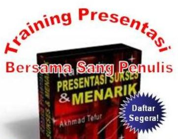 informasi training presentasi indonesia