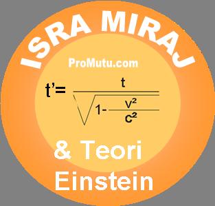 kisah isra miraj dan teori relativitas einstein