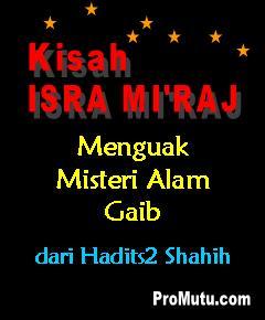 kisah isra mi'raj nabi muhammad saw hadits shahih