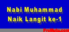 kisah nabi Muhammad naik ke langit 1