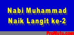 hadits kisah nabi Muhammad naik ke langit 2