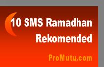 SMS Ramadhan Rekomendasi