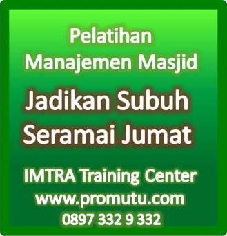 pelatihan manajemen masjid