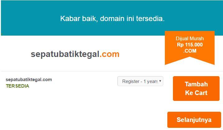 tempat kursus web di jakarta cara membeli domain