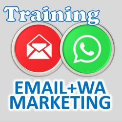 training email dan whatsapp marketing