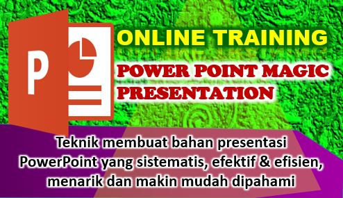 online training powerpoint presentasi