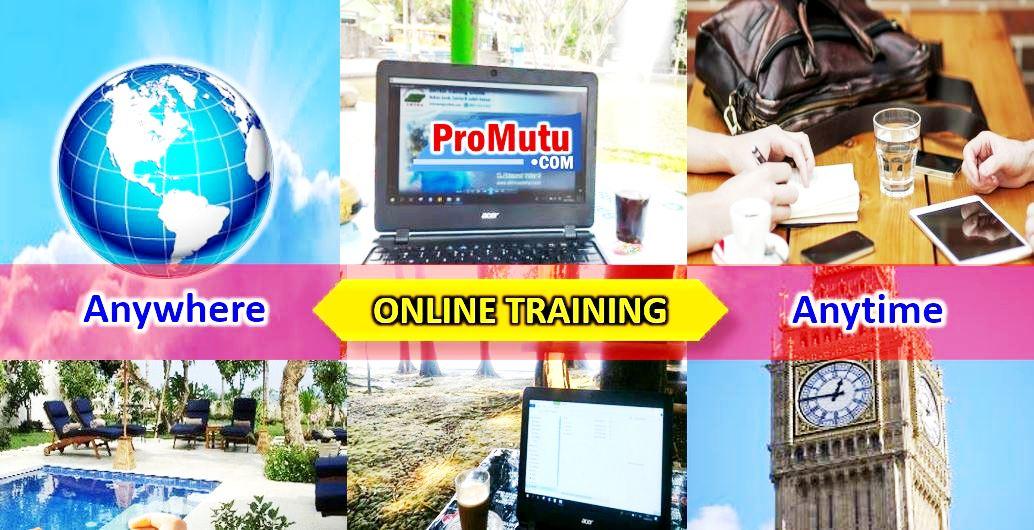 online training kursus belajar